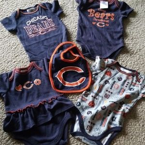 *EVERYTHING* Chicago Bears infant onesies